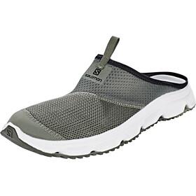 Salomon RX Slide 4.0 Chaussures Homme, castor gray/white/beluga